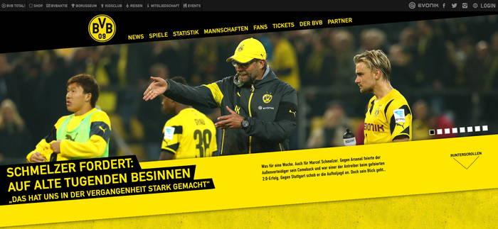 Domain www.bvb.de