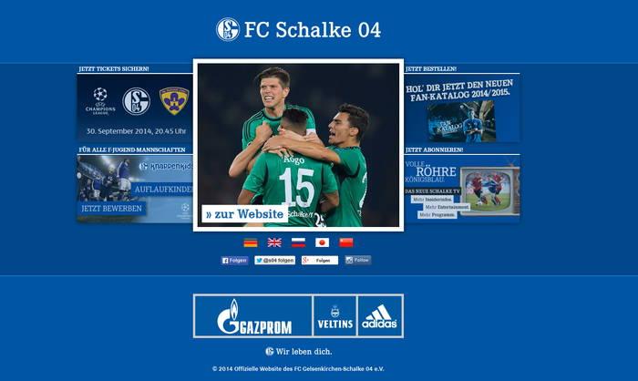 Domain www.schalke04.de