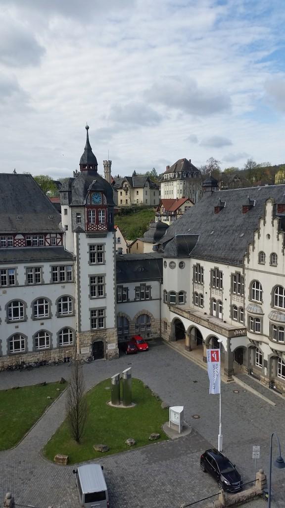 Ausblick Altstadt Jena