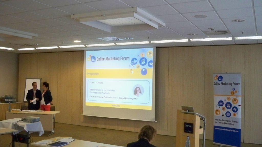 Christine Henning auf dem OMF in Frankfurt 2016