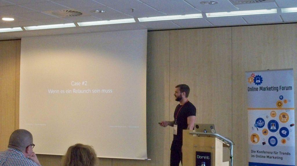Nils Kattau auf dem OMF in Frankfurt 2016