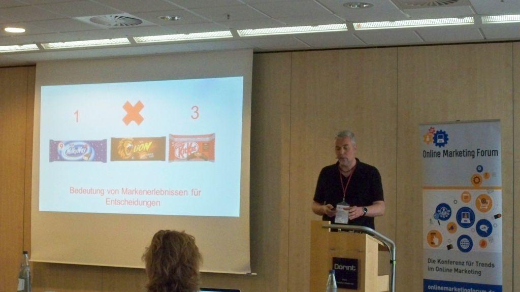 Prof Dr Herbst auf dem OMF in Frankfurt 2016