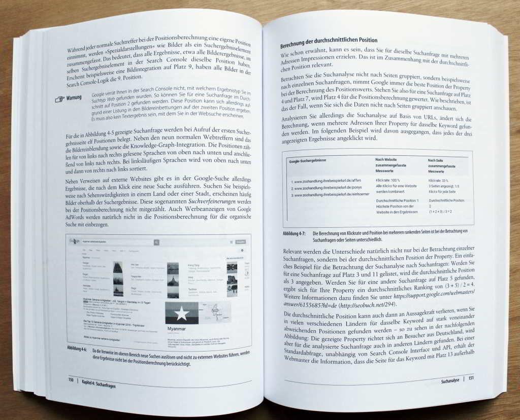 Buchbesprechung SEO mit Google Search Console, Kapitel Suchanfragen - SMART LEMON Blog