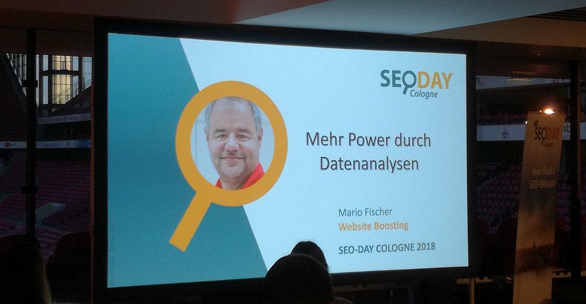 Mehr Power durch Datenanalysen von Dr. Mario Fischer - Vortrag SEO-Day 2018 - SMART LEMON