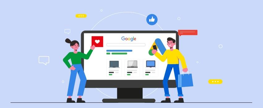 Schematische Darstellung Google Ads - SMART LEMON