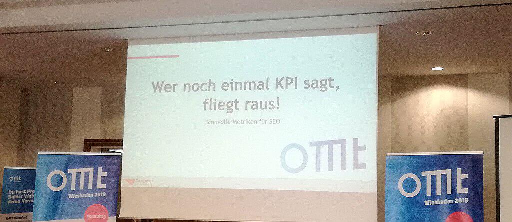 Florian Stelzners Vortrag auf der OMT 2019: Wer noch einmal KPI sagt, fliegt raus - SMART LEMON
