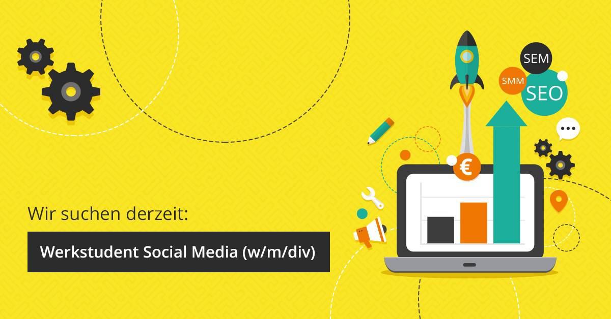 Image for Stellenangebot: Social Media Werkstudent (m/w/div)