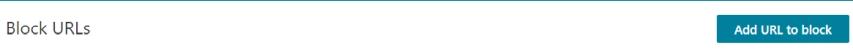 Bing Webmaster Tools Block URL Smart Lemon
