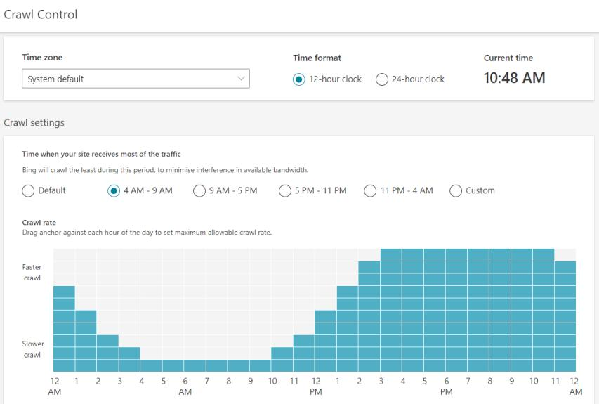 Bing Webmaster Tools Crawl Control Smart Lemon