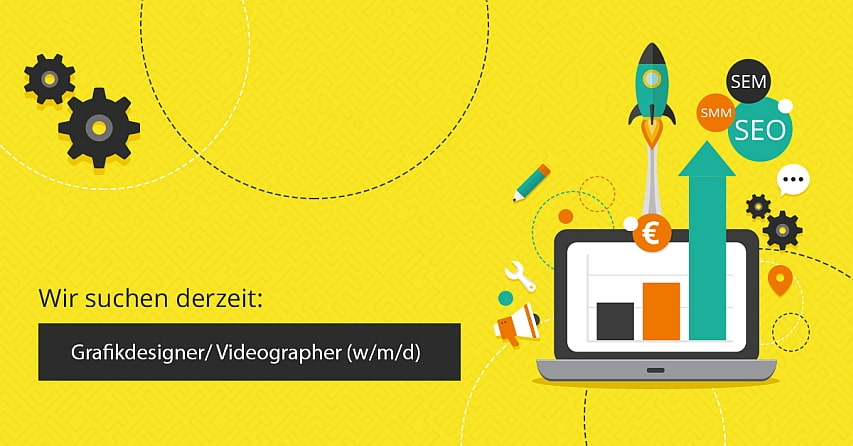 Image for Stellenangebot: Mediengestalter / Grafikdesigner / Videographer (m/w/d) mind. 20h / Woche