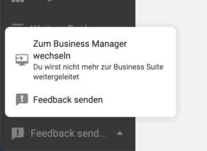 Facebook Business Manager Facebook Business Suite Wechsel